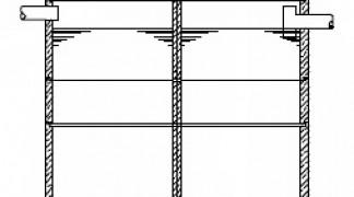 Mehrkammergruben sind Kleinkläranlagen aus wasserdichtem Beton und gibt es in Monolith- oder Schachtringbauweise.