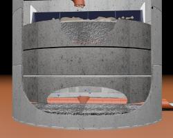 Bodenkörperfilterschacht